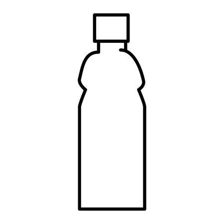 plastic bottle isolated icon vector illustration design Illustration
