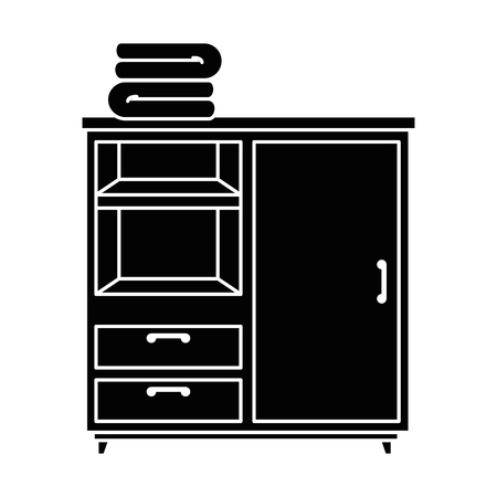 closet with clothes icon vector illustration design Reklamní fotografie - 87229887