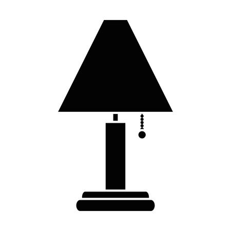 家分離ランプ アイコン ベクトル イラスト デザイン  イラスト・ベクター素材