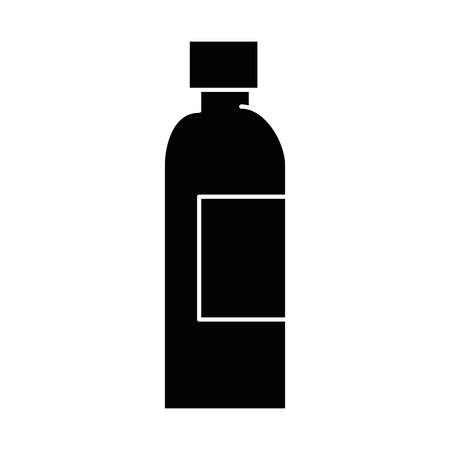 plastic bottle isolated icon vector illustration design Illusztráció