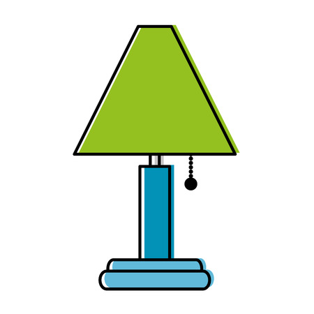 house lamp isolated icon vector illustration design