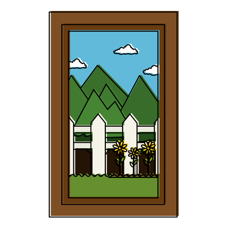 home picture isolated icon vector illustration design