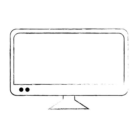 plasma tv isolated icon vector illustration design 版權商用圖片 - 87229983