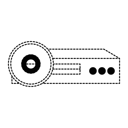 video beam projector icon vector illustration design