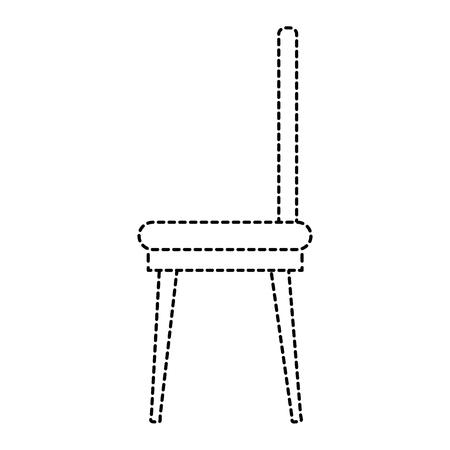 ダイニング ルームの椅子のアイコン ベクトル イラスト デザイン  イラスト・ベクター素材