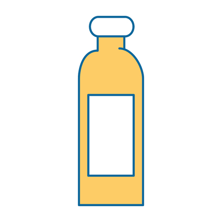 Plastic fles geïsoleerd pictogram vector illustratieontwerp Stockfoto - 87230157