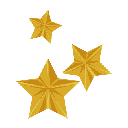 stars flying isolated icon vector illustration design