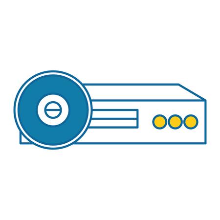 ビデオ ビーム プロジェクター アイコン ベクトル イラスト デザイン  イラスト・ベクター素材