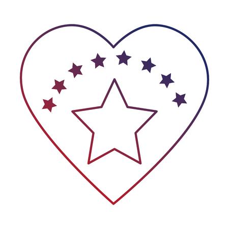 心分離の星のアイコン ベクトル イラスト デザイン