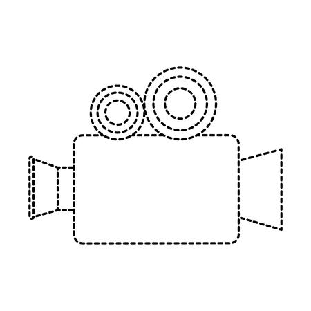 映画ビデオ カメラ アイコン ベクトル イラスト デザイン  イラスト・ベクター素材