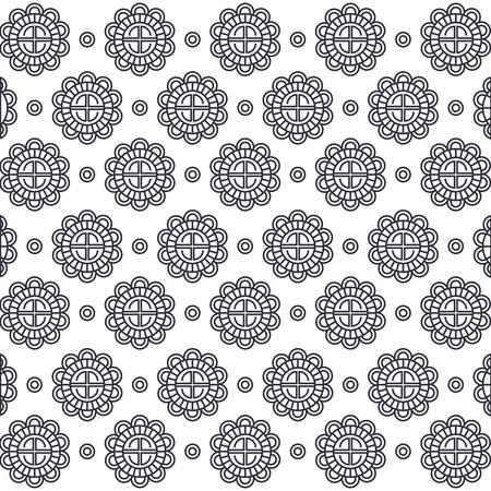 Figure geometriche modello di sfondo illustrazione vettoriale illustrazione Archivio Fotografico - 87385854