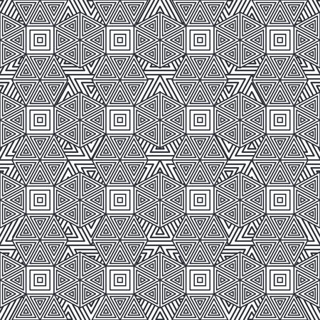 Figure geometriche modello di sfondo illustrazione vettoriale illustrazione Archivio Fotografico - 87385866
