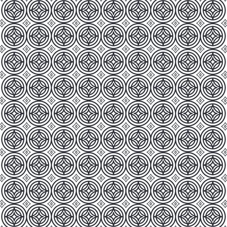 Figure geometriche modello di sfondo illustrazione vettoriale illustrazione Archivio Fotografico - 87385868
