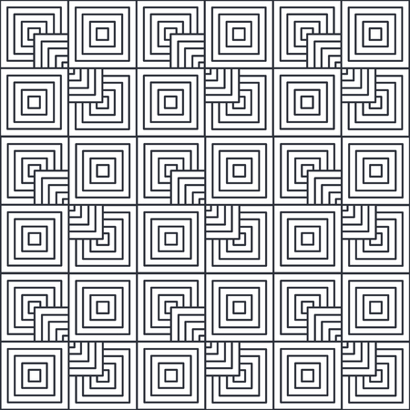Illustrazione vettoriale di illustrazione vettoriale di figure geometriche Archivio Fotografico - 87385872