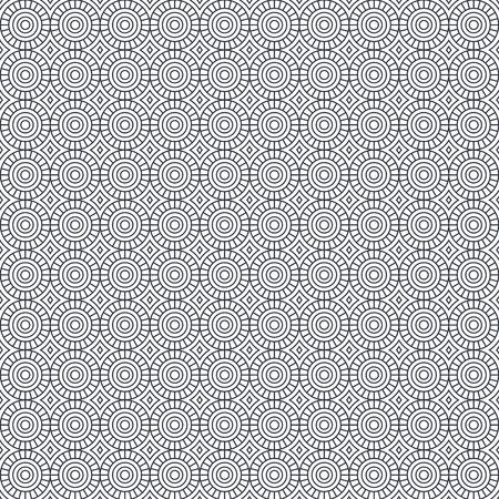 幾何学図形パターン背景ベクトルイラストデザイン