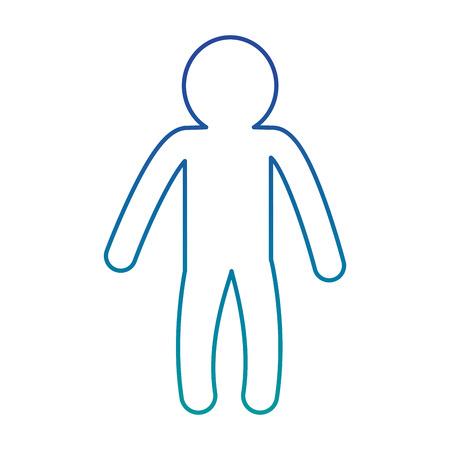 male human silhouette icon vector illustration design