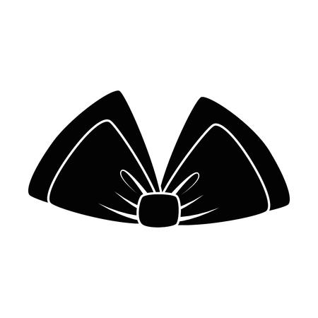 bowtie decorative isolated icon vector illustration design