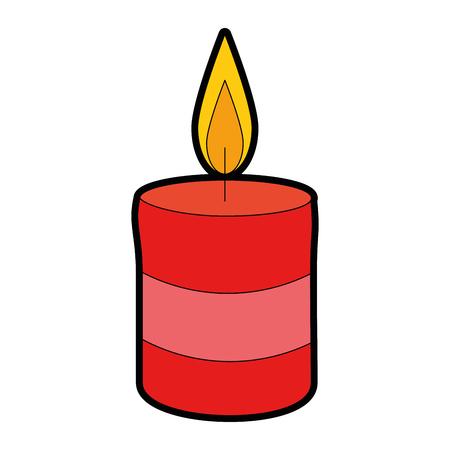 celebration candle isolated icon vector illustration design