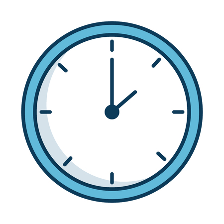 countdown: time clock isolated icon vector illustration design Illustration