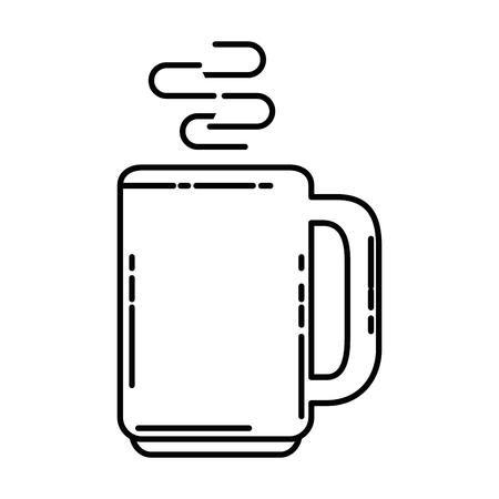 맛있는 커피 컵 아이콘 벡터 일러스트 레이 션 디자인 일러스트
