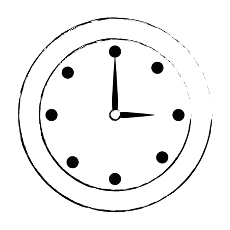 time clock isolated icon vector illustration design Фото со стока - 87568958