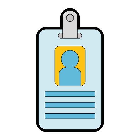 worker badge isolated icon vector illustration design Çizim