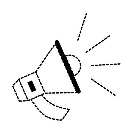 megaphone audio isolated icon vector illustration design Stock Vector - 87569030