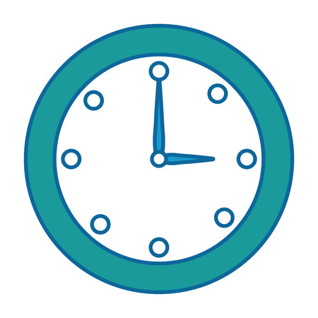 time clock isolated icon vector illustration design Фото со стока - 87569138