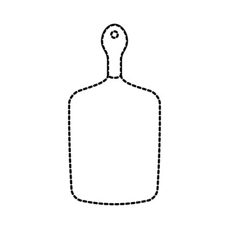 木製カッティング ボード キッチン供給ベクトル図