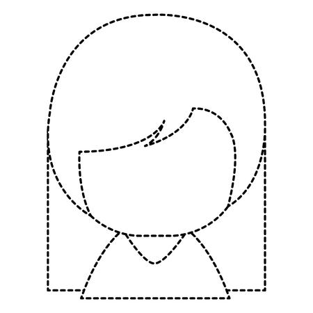 little japanese doll character vector illustration design Stock Vector - 87668671