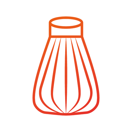 salt cooking ingredient kitchen cartoon vector illustration
