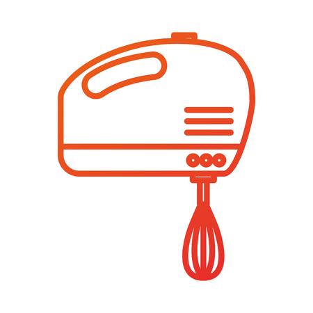ミキサー家電キッチン用品ベクトル図