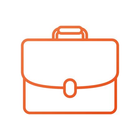 비즈니스 서류 가방 문서 포트폴리오 액세서리 벡터 일러스트 레이션 일러스트