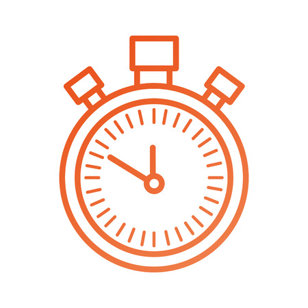 chronometer countdown speed timer object icon vector illustration Stock Vector - 87670205