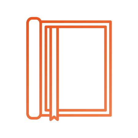 Notebook con ufficio di tema di ufficio di navigazione di righello Archivio Fotografico - 87671907