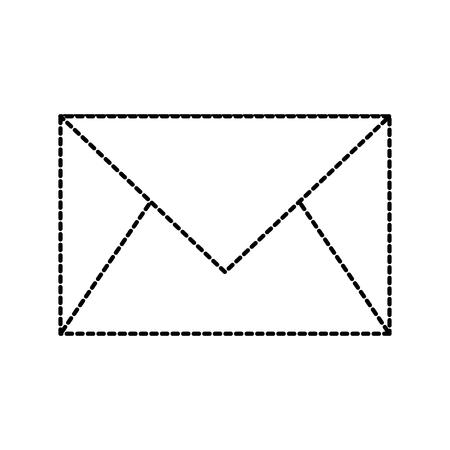 email envelope letter message communication vector illustration Ilustração