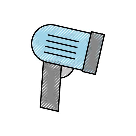 barcode scanner marktprijs technologie vector illustratie Stock Illustratie