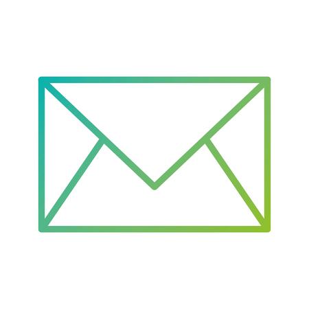 email envelope letter message communication vector illustration Ilustracja