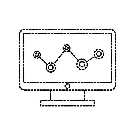コンピュータソリューションギア接続デバイスベクトルイラスト