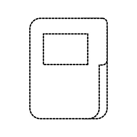 business office folder file organizer network icon vector illustration Illustration