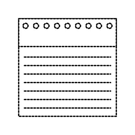 学校のノート用紙裏地に穴ベクトルイラストに戻る  イラスト・ベクター素材