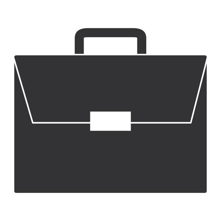 포트폴리오 서류 가방 격리 된 아이콘 벡터 일러스트 레이 션 디자인