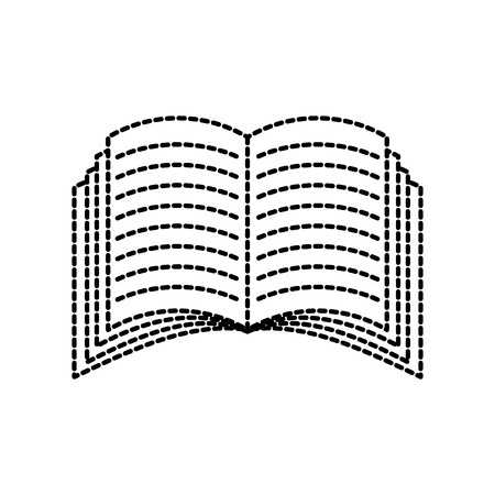 open book icon education knowledge learning lecture symbol vector illustration Reklamní fotografie - 87678153