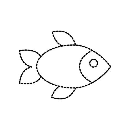 restauran menu seafood fish fresh gourmet vector illustration Stock Vector - 87678411