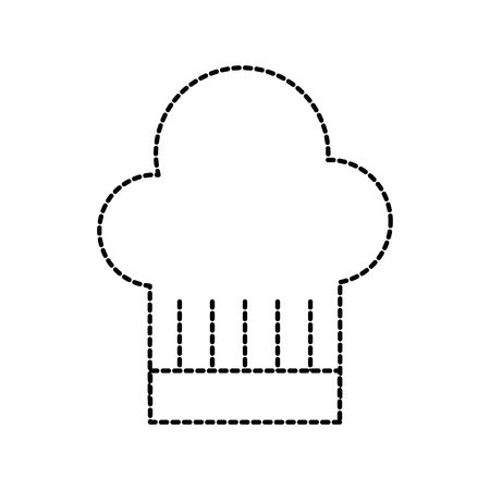 restaurant hat of chef service symbol vector illustration