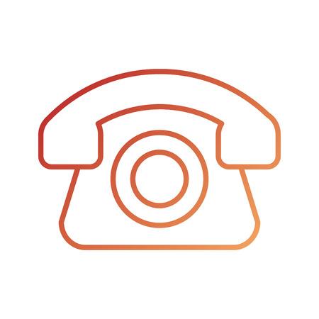 logistieke callcenter levering telefoondienst vectorillustratie