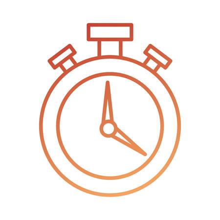 ロジスティック配信クロノメーター タイマー時間速度ベクトル図