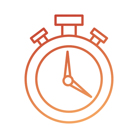 logistic delivery chronometer timer hour speed vector illustration