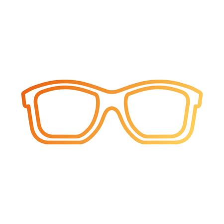 여행 휴가 선글라스 액세서리 패션 벡터 일러스트 레이션