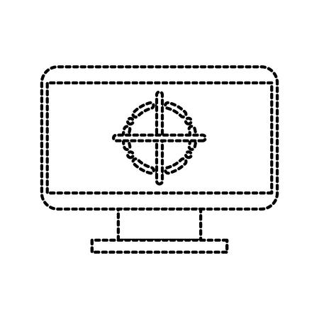 タグ デザイン グラフィック要素ベクトル イラスト画面モニター  イラスト・ベクター素材